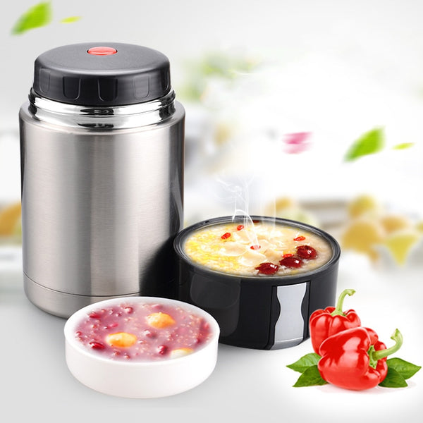 Large Capacity 800ML/1000ML/1200ML Thermos Lunch Box Portable Stainless Steel Food Soup Containers Vacuum Flasks Thermocup