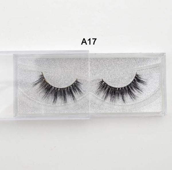 Lash Mink Eyelashes 3D Mink Hair Lashes Wholesale 100% Real Mink Fur Handmade Crossing Lashes Thick Lash 11 Styles New 1Pair