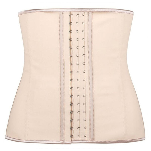 Latex Waist Trainer Corset 9 Steel Bone Shapewear Body Shapers Women Corset Slimming Belt Waist Shaper Cinta Modeladora