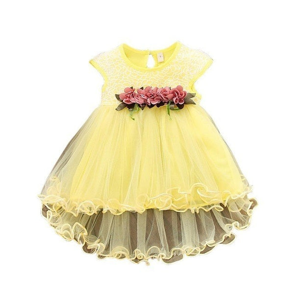 MESOLO New  Cotton Children's Clothing Girls Girls Baby Dress Baby Clothes Dress Casual Fashion Cute Small Fresh
