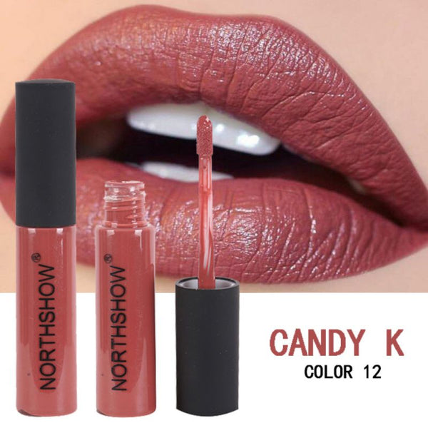 Matte Lipstick Long-Lasting Liquid Lip Makeup Tint Tattoo Lipstick Easy To Wear Red Lip Gloss Cosmetic