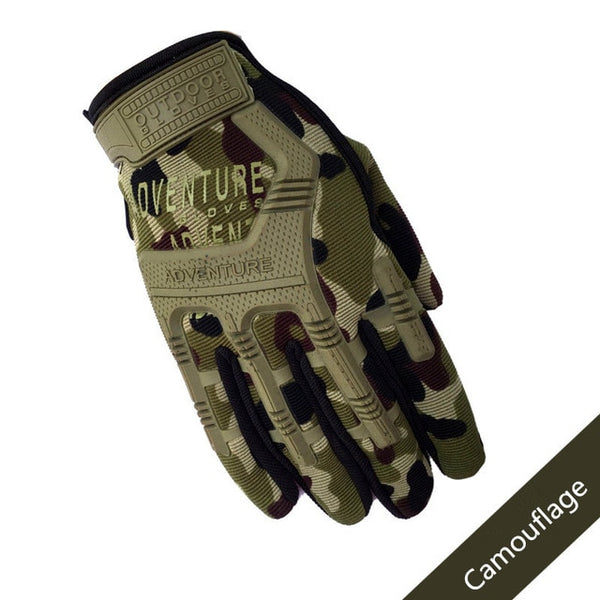 Men Full Finger Army Combat Tactical Gloves Camouflage Paintball Military Gloves SWAT Soldier Shoot Bicycle Mittens handschoenen