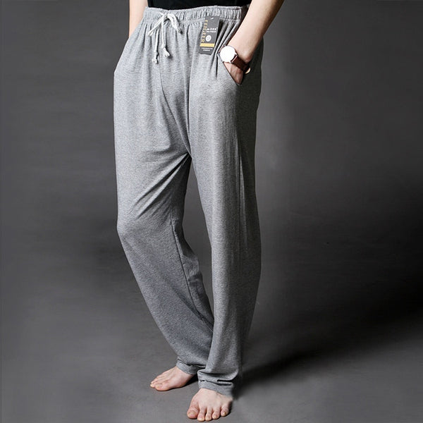 e9ded8f7477 Men s Lounge Pants Soft Modal Thin Sleep Bottoms Environmental Dyeing Loose  Casual Pajamas Suit For The