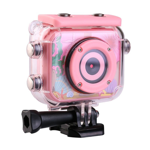 Mini Kids Digital Camera For Swimming Cycling Waterproof 30M 1080P Video 120D Camera Recoder Camcorder For Children Shooting