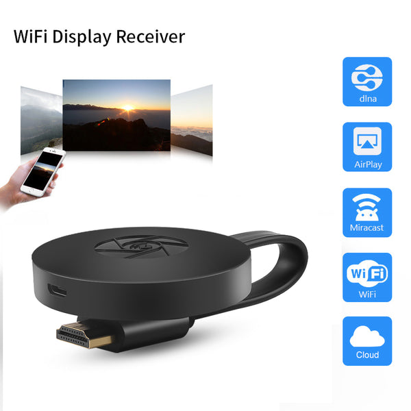 Mirasrceen G2 1080P HDMI TV Stick Screen Mirror Share HDTV Wireless Wifi Display TV Dongle Receiver For IOS Android For Miracast