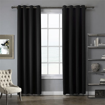 Modern Blackout Curtains For Window Treatment Blinds Finished Drapes Window Blackout Curtains For Living Room The Bedroom Blinds