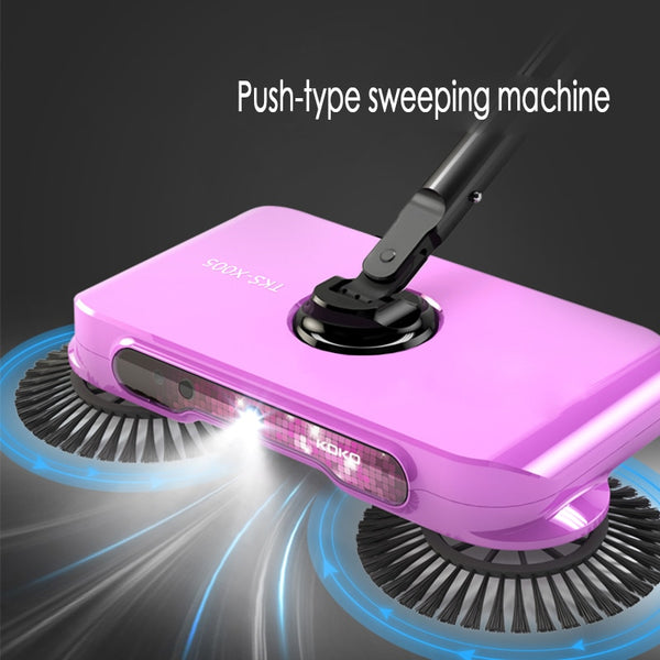 Mop broom 360 Rotary Magic Manual Telescopic Floor Dust Sweeper Handle Household Cleaning Tool