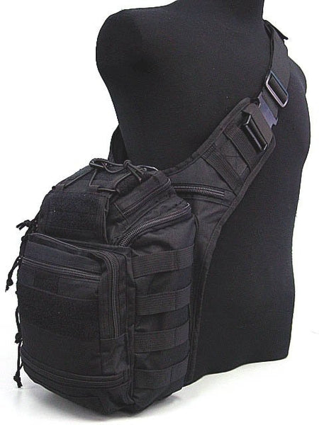 Multi Purpose Molle Utility Gear Tool Shoulder Bag BK Digital ACU Camo