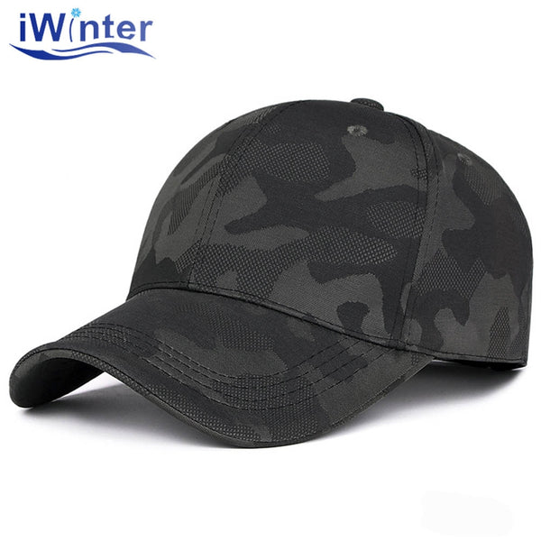 New Camouflage Men's Baseball Cap Fashion Casual Women's Caps Outdoor Sport Snapback Cap Dad Cap Adjustable gorras Unisex