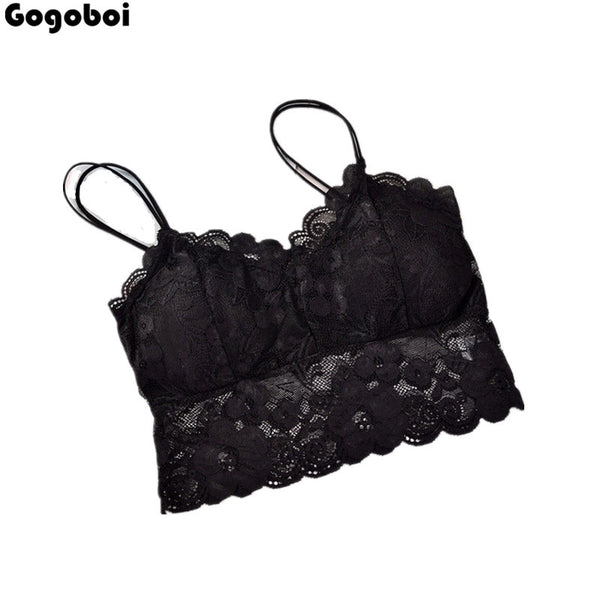 New Hot Sale Women's Ladies Lace Strappy Eyelash Vest Party Going Out Bralet Bra Crop Tops UK