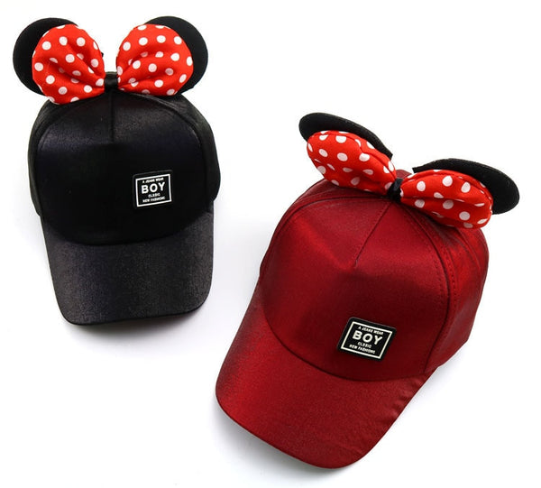 New Lovely Baseball Cap Kids Boys Girls Adjustable Caps Fashion Cartoon Mickey Minnie Children Snapback Hat Bone Masculino