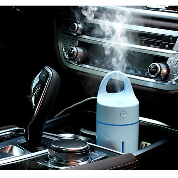 New Magic Cup Ultrasonic Humidifier Colorful Led Light for Home Car Office Essential Oil Aroma Diffuser Purifier Auto Power-off