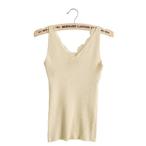 New knitted Tank Tops Women Summer Camisole Vest simple Stretchable Ladies V Neck Slim Sexy Strappy Camis Tops