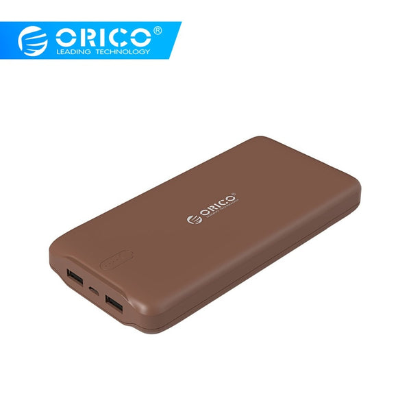 ORICO 20000mah Power Bank Portable External Battery Power Bank Smart Charge for Samsung Huawei Xiaomi Tablets Mobile Phone