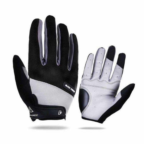 Outdoor Sports Windstopper Waterproof Gloves Black Riding Glove Motorcycle Gloves Touch Screen Black Full Finger Men
