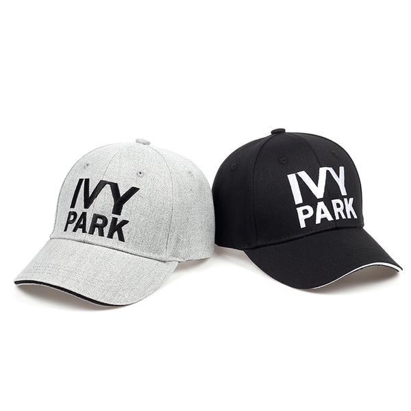 PARK Baseball Cap Beyonce Sporty Style Cotton Hemp ash Hat Unisex Snapback Caps for Women Man Brand Embroidery Gorras