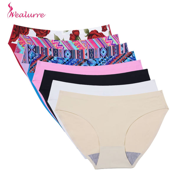 Panties Seamless Briefs for Women Underwear Cute Comfortable Bikini Ladies Invisible Traceless Panty Girls Sexy Lingerie