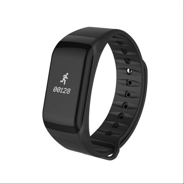 Pedometer Wristband heart rate tracker smart band F1 smart bracelet Blood Pressure With message reminder life waterproof watch