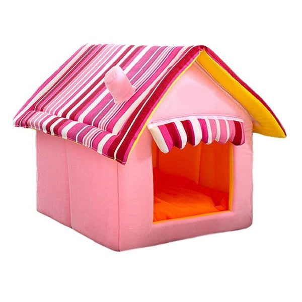 Pets Dog House Dog Bed Removable Pet Bed for Dogs Waterproof Pet House Bed Cover Mat House for Small Dogs