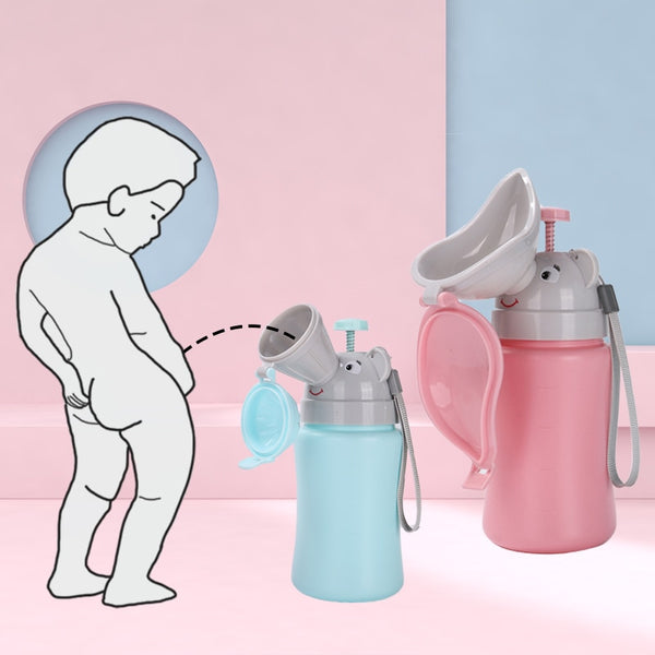 Portable Convenient Travel Cute Baby Urinal Kids Potty Girl Boy Car Toilet Potties Vehicular Urinal Traveling urination 2019 New