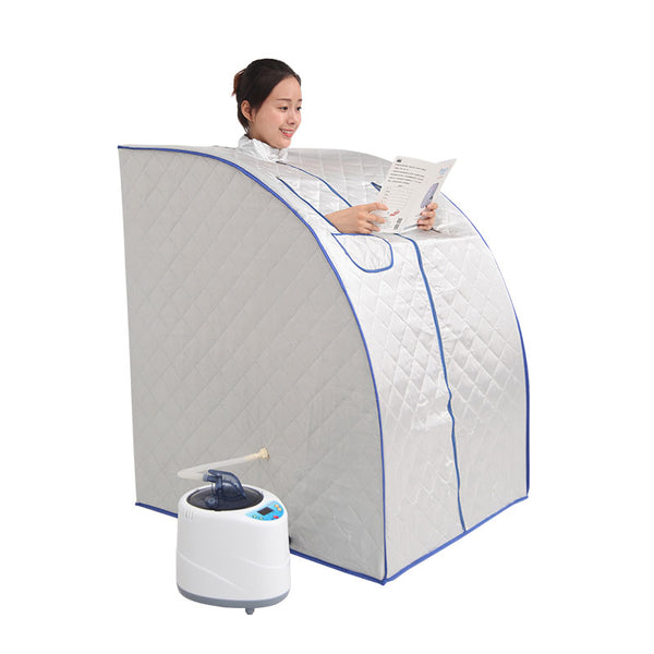 Portable Steam Sauna with steam generator  capacity of 2L weight loss Home steam sauna bath spa  Relaxes tired