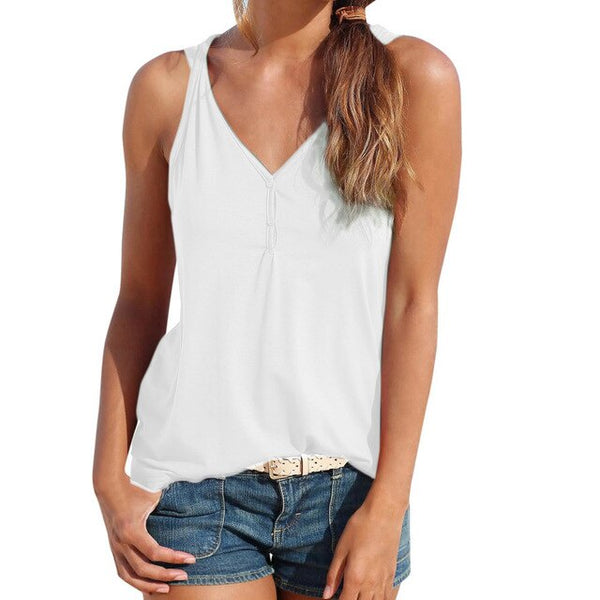 Preferential Womens Summer Strappy Vest Top Sleeveless Shirt Casual Tank Tops  **