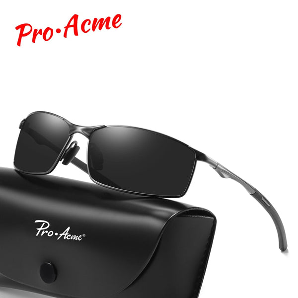 Pro Acme Brand Men HD Polarized Sunglasses Classic Vintage Sun Glasses Coating Lens Driving Eyewear for Men UV400 Oculos PA1170