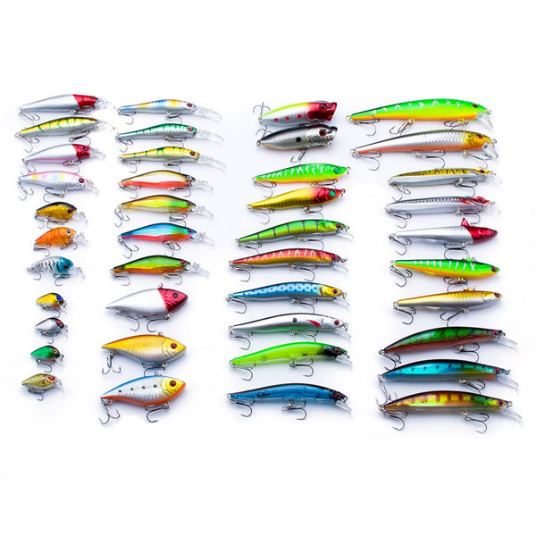 Promotion!  1pcs Minnow Lure Sea Fishing Tackle Fishing Kit Hard Bait Jig Wobbler Plastic Lure Fishery Feeder Fishing Lure
