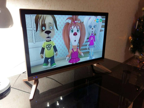 Russia led TV multi languages DVB-T2 led television TV 22'' inch