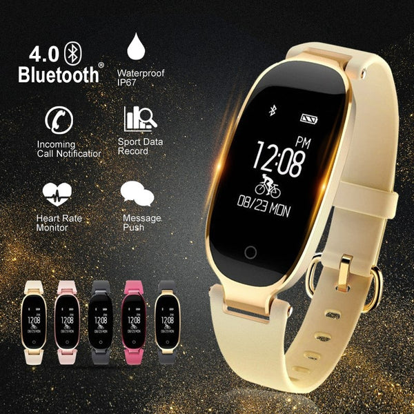 S3 SmartWatch Smart watch Fashion Women Ladies Heart Rate Bluetooth relogio inteligente For HUAMI  Xiaomi Android IOS reloj
