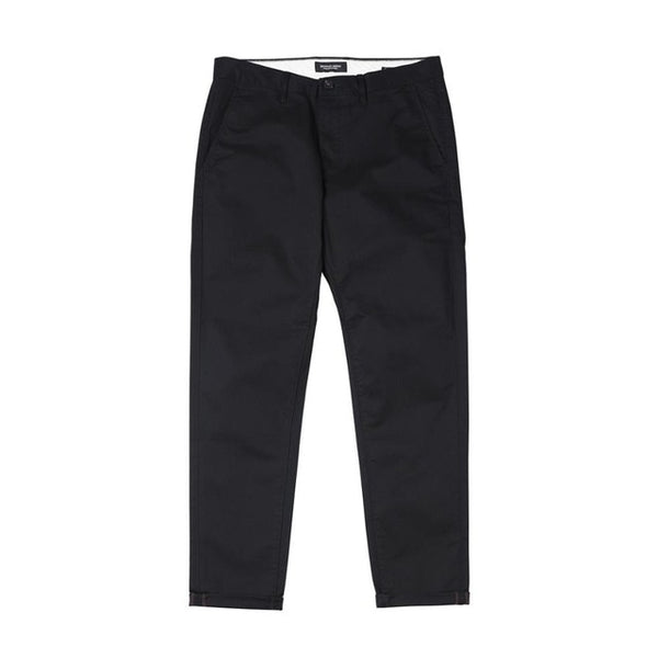 SIMWOOD Autumn Winter New Casual Pants Men  Cotton Slim Fit Chinos Fashion Trousers Male Brand Clothing Plus Size