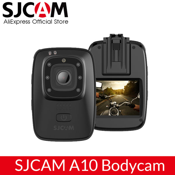 SJCAM A10 (M40) Portable Body Camera Wearable Infrared Security Camera IR-Cut Night Vision Laser Positioning Action Camera