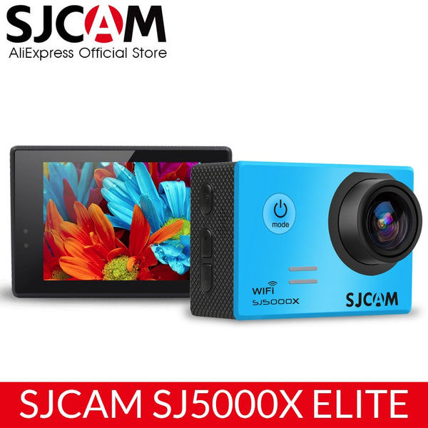 SJCAM SJ5000X Elite Action Camera WiFi 4K 24fps 2K 30fps Gyro Stabilizer NTK96660 Diving 30m Waterproof Sports Video Camera