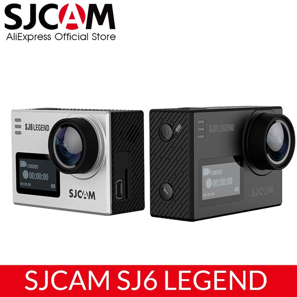 "SJCAM SJ6 Legend 4K 24fps Ultra HD Notavek 96660 Waterproof Action Camera 2.0"" Touch Screen Remote WIFI RAW Sports DV"