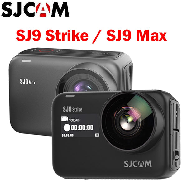 SJCAM SJ9 Series SJ9 Strike / Max GYRO/EIS 10m Body Waterproof 4K Action Camera Live Streaming 2.4G Wifi Sports Video DVR Camera
