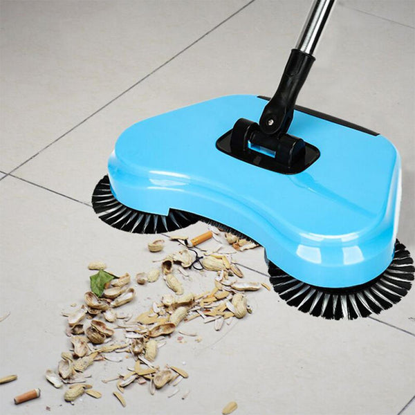 SaiDeng Hand Push Type Sweeping Machine Handhold Magic Broom Dustpan Mop Household Cleaning Tool-25