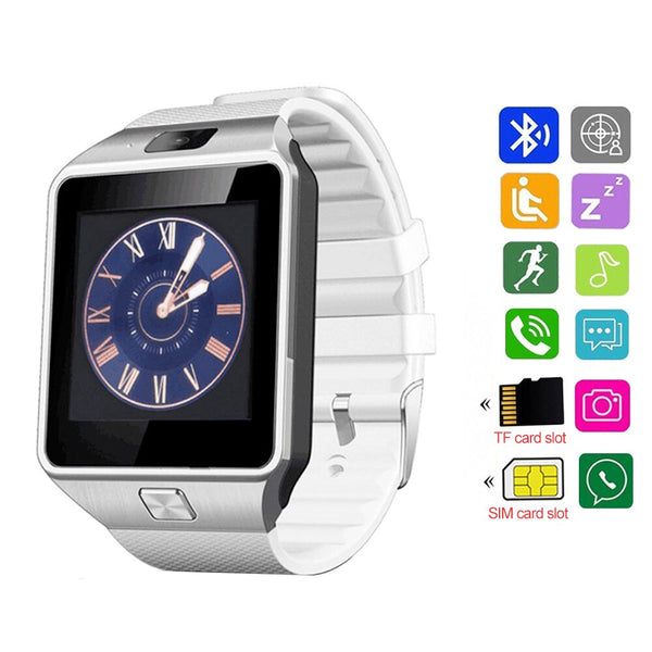 Smart Bluetooth Watch DZ09 Wearable Device Mobile Call SIM TF Card Digital Watch Smart Clock Watch For IOS Android Camera