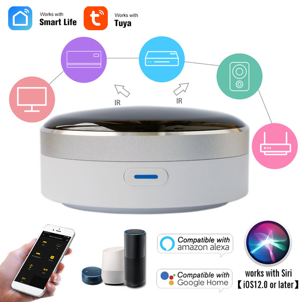 Smart Life Universal Intelligent Smart Remote Controller WIFI+IR Switch Automation Home Air Condition TV Google Assistant Alexa