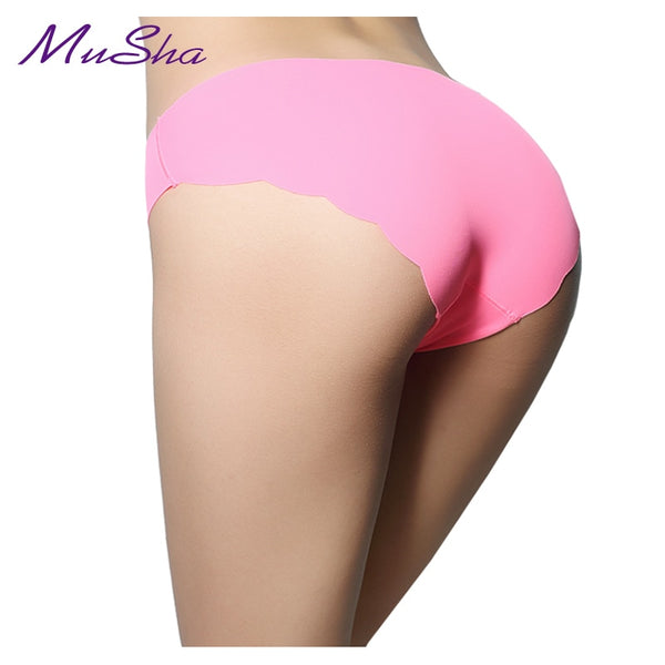 Special Offer New seamless  Ruffles Ultra-thin Comfort No trace Women Underwear seamless Panties low-Rise Briefs
