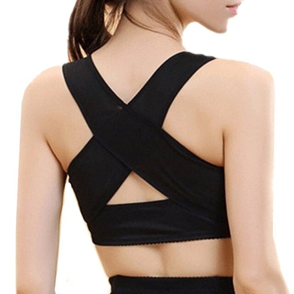 Starwee Women Back Chest Posture Correction Corset Adjustable Support Belt Body Shaper Shoulder Brace Health Care Back Lift Belt