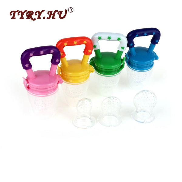 TYRY.HU 1Pc Baby Nipple Feeding Food Grade Silicone Teether BPA Free Pacifier Chain Infants Tooth Care Toys Baby Teething Gifts