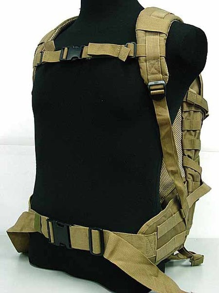 Tac Molle sports bag Patrol Rifle Gear Backpack Digital ACU Camo Coyote Brown