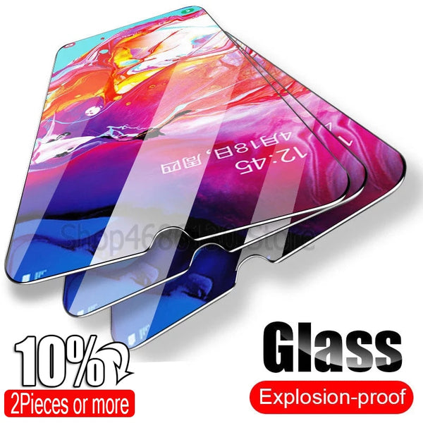 Tempered Glass For Samsung Galaxy A50 A30 Screen Protector Glass For Samsung Galaxy A10 A51 M20 A20 A20E A40 A80 A70 A60 Glass