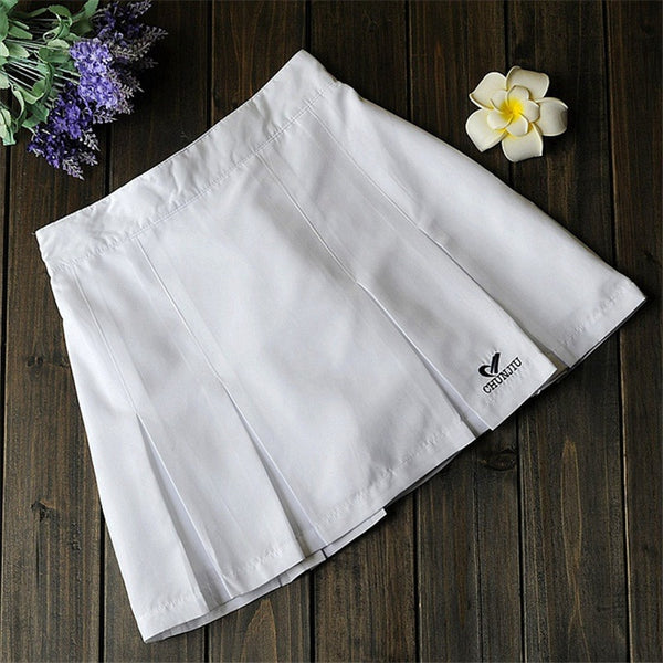 Tennis Women Wear Sport Women Skirts Badminton Skorts Running Skirts Woman for Girls with Sfety Pants