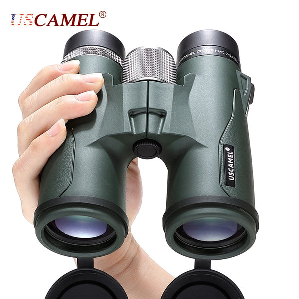 USCAMEL 10x42 8x42 HD BAK4 Binoculars Military High Power Telescope Professional Hunting Outdoor Sports Bird Watching Camping