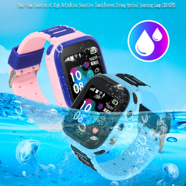 Universal Children Smart Watch LBS Location IP67 Waterproof Touch Screen Wristwatch Wearable Device For Child Gift