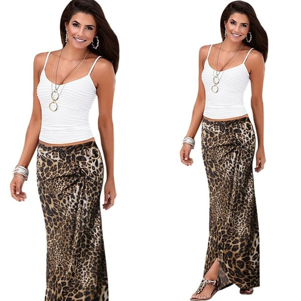 Vfemage Womens Summer Elegant Vintage Ruched Draped Asymmetric Metal Ring High Waist Casual Party Beach Fitted Long Skirt 2699