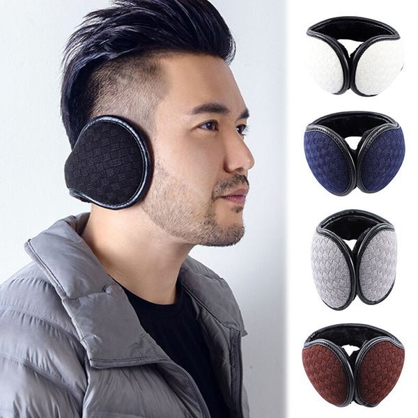 Warm Earmuff Men Women Kitted Ear Muffs Plush Adjustable Winter Headband for Sport Cycling Riding d88