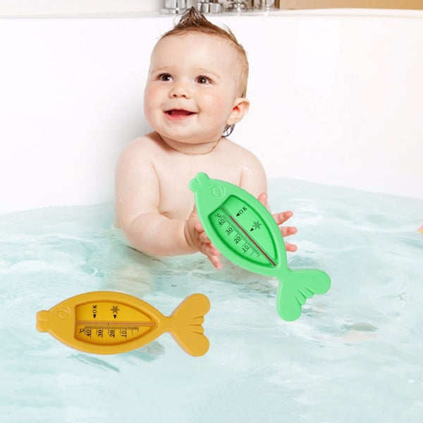 Water Thermometer Baby Bathing Fish Shape Temperature Infant Toddler Shower Toys