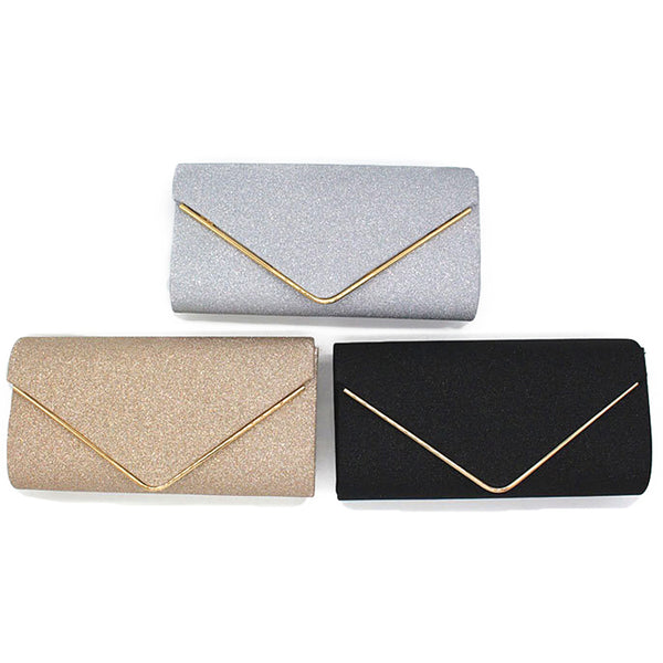 Woman Evening Bag Women Diamond Rhinestone Party Clutch Crystal Day Clutch Wallet Wedding Purse Party Banquet Black Gold Silver
